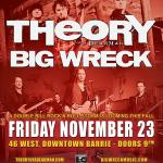 IMPACT LIVE ANNOUNCES THEORY OF A DEADMAN & BIG WRECK PERFORMING LIVE IN CONCERT AT 46 WEST CONCERT HALL: 2 HEADLINERS – 1 NIGHT ONLY!