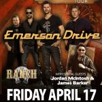 Kicx106 Presents EMERSON DRIVE Radio For Cardiology Benefit Concert!