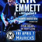 RIK EMMETT Headlines JAMMIN' For JAMIE 2017 Concert Party!
