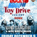 IMPACT LIVE Presents The 2011 Rock95-Koolfm Toy Drive Concert Featuring: BIG SUGAR & WIDE MOUTH MASON Helping To Give A Kid A Christmas!