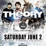 IMPACT LIVE Announces PRE-SUMMER ROCK HURRICANE CONCERT  With THEORY OF A DEADMAN @ 46 WEST, Downtown Barrie!