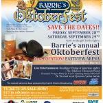 BARRIE'S ANNUAL OKTOBERFEST - NEW INDOOR VENUE Powered By IMPACT LIVE!