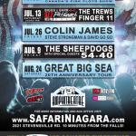 International Recording Artists To Perform Safari Niagara's  Summer Concert Series 2013 Powered By IMPACT LIVE!