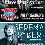 Over $15000 + Truckloads Of Presents Raised At The ROCK95-KOOLFM TOY DRIVE Concerts Featuring THREE DAYS GRACE & SERENA RYDER Helping To Give A Kid A Christmas!