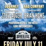 JOURNEY & BAD COMPANY Former Lead Singers Steve Augeri & Brian Howe Perform The HITS Live At Safrai Niagara!