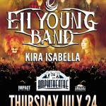 Country Superstars ELI YOUNG BAND Coming To Safari Niagara With Special Guest KIRA ISABELLA!