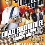 CHAD BROWNLEE's When The Lights Go Down Tour Benefit Concert!
