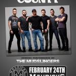 COLD CREEK COUNTY w/ The Mudslingers Live!