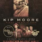 KIP MOORE Plead The Fifth Tour w/ Drake White!