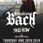 SEBASTIAN BACH (Skid Row) Triple Bill Concert Party!