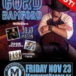GORD BAMFORD Honytonks & Dive Bar Tour 2018 - SOLD OUT!
