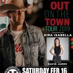 "AARON PRITCHETT & Kira Isabella ""Out On The Town Tour 2019"""