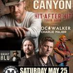 "GEORGE CANYON, Doc Walker, Charlie Major & Manny Blu ""Hit After Hit Tour"""