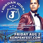 JORDAN JOHN, Da' Blooze Bros. & Cameo Blues Band Kick-Off Kempenfest 2019