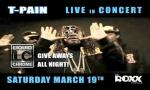 T-PAIN Live In Concert!