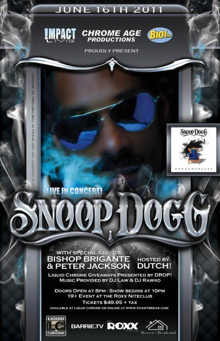 Snoop Dogg Live In Concert