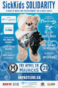 SickKids Solidarity - A Night Of Music & Entertainment For A Great Cause!