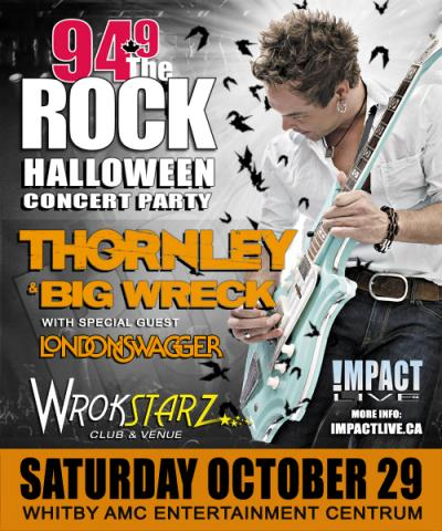 Thornley & Big Wreck Reunion Halloween Bash