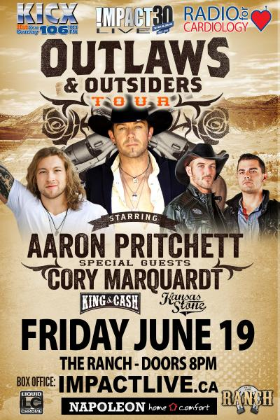 OUTLAWS & OUTSIDERS Radio For Cardiology Benefit Concert Party In Support Of RVH Cardiac Care!