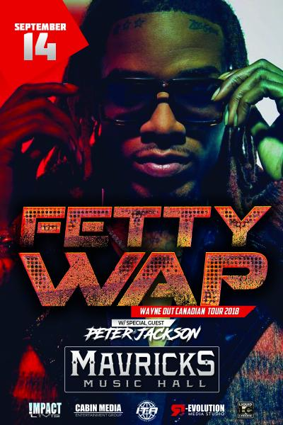 FETTY WAP Wayne Out Canadian Tour 2018
