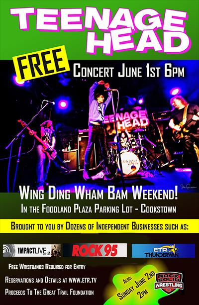 Wing Ding Wham Bam Weekend In The Foodland Plaza Parking Lot (Cookstown)